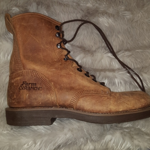 0545089c8c7 Farm & Ranch leather work boots